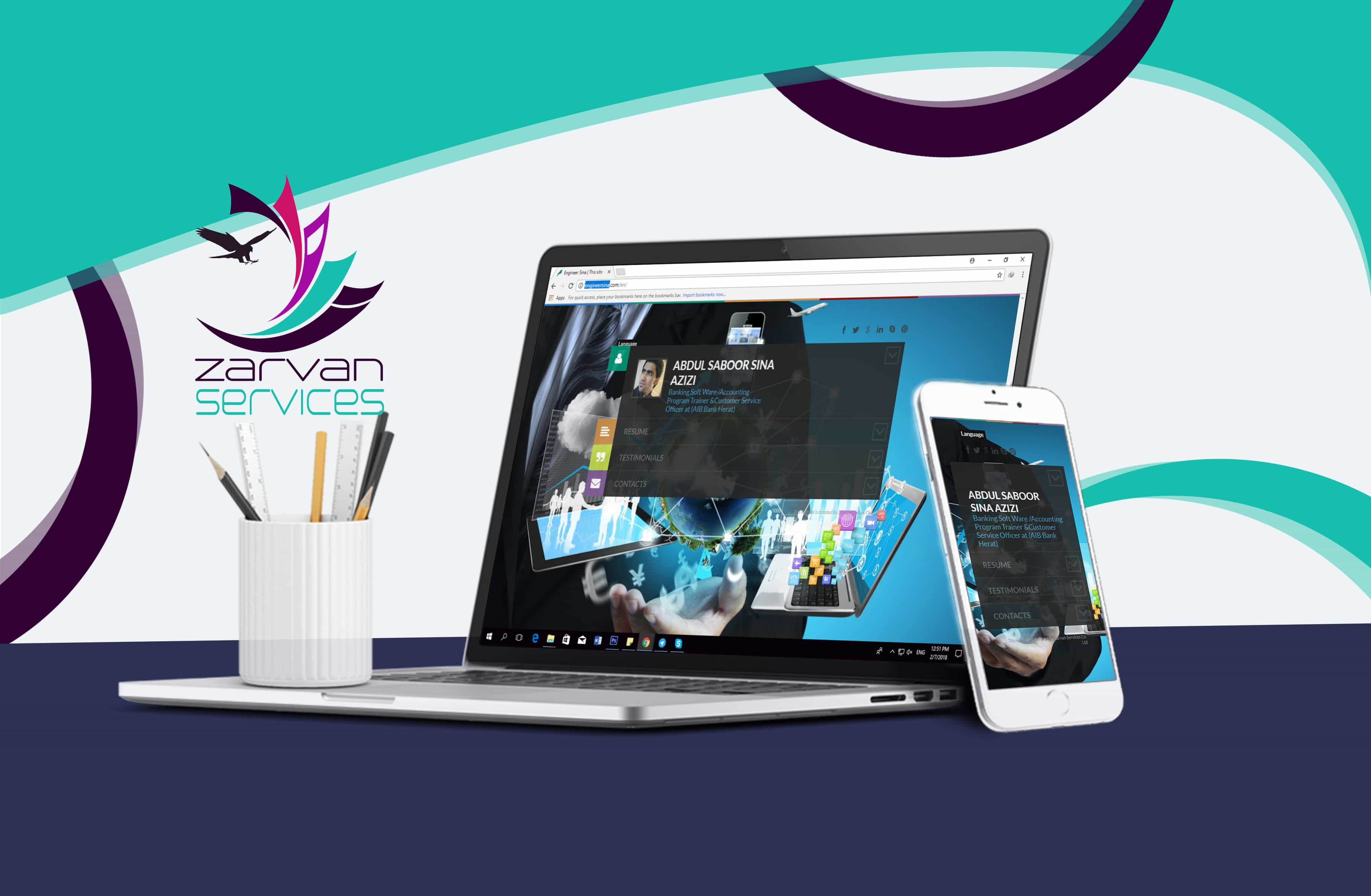 Design and Develop of website like a profile